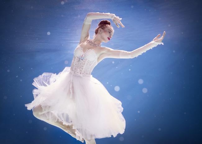 Balerina underwater